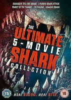 The Ultimate Film Shark Collection (5 Film) DVD Nuovo DVD (KAL8606)