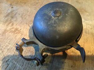 Vintage   - Lucas  Bell old bike bell Birmingham LTD push bike bell bicycle bell