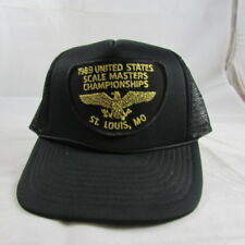 1989 US Scale Masters Championships Trucker Hat Aircraft Modelling St. Louis MO