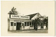 Louis Pappas Riverside Curio Shop Vintage Real Photo Postcard RPPC