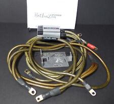 Silver Sun Auto Hot Inazma Hyper Voltage Stabilizer Ground Earth Wires Set JDM