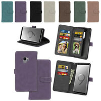 For Sony Xperia C4 E5303 E5306 XA1 Wallet Leather Magnetic Stand Card Case Cover