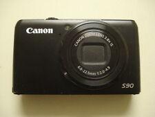 Nice Canon Powershot S90 10MP Digital Camera