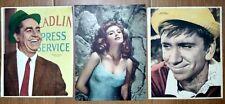 VINTAGE GILLIGAN ISLAND BOB DENVER TINA LOUISE JIM BACKUS TV POSTER LOT 1960's