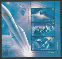 Kyrgyzstan 2017 Space MNH Block