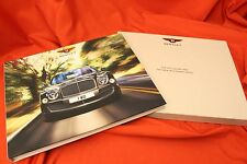2016 BENTLEY Mulsanne Speed EWB Kunden Hardcover Prospekt Brochure BOX - 2015