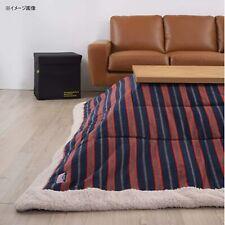 Kotatsu Table FUTON Rectangle Comforter Striped KK-160 Azumaya F'Kolme-USA NEW