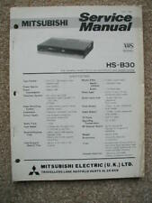 Mitsubishi Original Service manual HS-B30