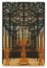 VIC - c1970s POSTCARD - THE MELBOURNE CANDELABRA, NATIONAL GALLERY OF VICTORIA