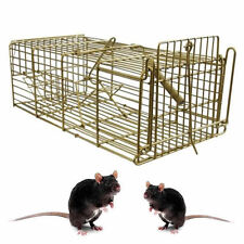 Large metal Humane Pest Control Trap Rat Mouse Catcher Easy Bait Humane Cage