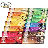 10 Packs Juicy Fruit Flavored Cigarette Rolling Paper,50 Papers Per Pack,250pcs