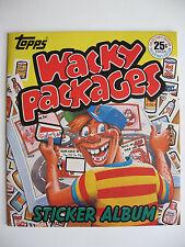 """Topps Sammelbilderalbum """"Wacky Packages"""", engl., 1982, Leeralbum plus Bildersatz"""
