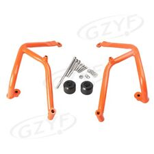 1PC Orange Engine Highway Crash Bar For KTM DUKE 390 2013-2015