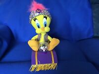 1999 Tweety Bird Talking Sylvester Magic Carpet PlayByPlay Looney Tunes Light Up