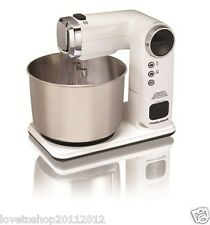 Morphy Richards Total Control Folding Stand Mixer - White 400405