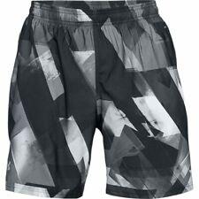 Under Armour Men's Launch SW Printed 7'' Shorts - Medium - Grey - New