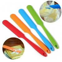 Silicone Spatula Cooking Baking Scraper Cake Cream Butter Mixing Batter Tool  YZ