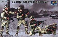 TRUMPETER U.S.101st AIRBORNE DIVISION CREW Scala 1:35 cod.00410