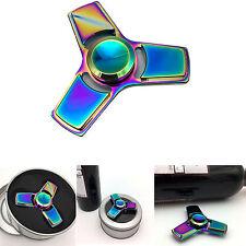 Rainbow EDC Fidget Hand Spinner R188 Alloy Finger Focus ADHD Autism Kid Toy Gyro