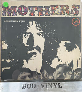 Frank Zappa & The Mothers Of Invention Absolutely free - 2317-035 A1/B1 VG / VG