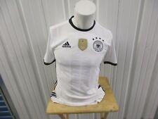 ADIDAS GERMAN NATIONAL FOOTBALL MENS TEAM SMALL SEWN WHITE JERSEY NWT 2014 WC