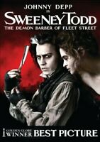 Sweeney Todd - The Demon Barber of Fleet Street -  EACH DVD $2 BUY AT LEAST 4 -