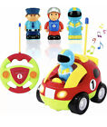 Liberty Imports My First Cartoon RC Race Car Radio Remote Control Toy for Baby