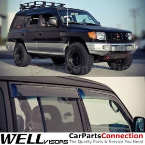 Details about  /AVS Fits 1997-2004 Mitsubishi Montero Bugflector Hood Protector Shield 25654