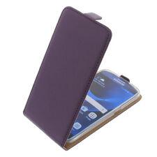 Custodia per Samsung galantxy S7 custodia cellulare modello flip case lilla