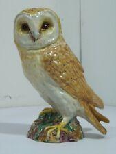 "Antique Ceramic Barn Owl #1046 Beswick England 7.5"" Tall"
