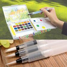 3pcs Pilot Ink Pen for Water Brush Watercolor Calligraphy Drawing Painting Tool