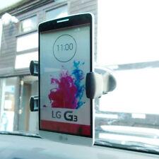 Support de voiture de GPS noire LG G3 pour téléphone mobile et PDA