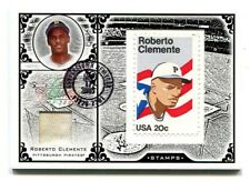 2005 LEAF CENTURY STAMP POSTMARK LEGENDARY PLAYERS 20¢ #19 ROBERTO CLEMENTE 1/21
