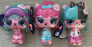 LOT OF 3 Pop Pop Hair Surprise Series 1 - 3 in Doll Brushes. Sealed
