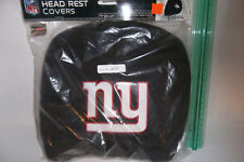 AS IS #18 Car Headrest Covers New York Giants Auto Party Tailgate NFL Truck