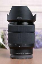 Sony FE 28-70mm f/3.5-5.6 OSS Lens (SEL2870) with Caps & Hood