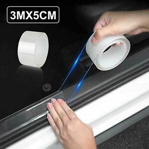 3M Protector Sill Scuff Car Auto Door Plate Anti-Sticker Scratch Bumper Strip