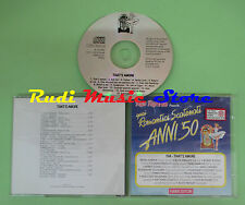 CD ROMANTICI SCATENATI 50 19A AMORE compilation 1994 ELVIS PRESLEY CROSBY (C39*)