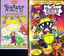 Rugrats - A Baby's Gotta Do What a Baby's Gotta Do & Rugrats The Movie - 2 VHS