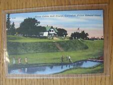1900's-50's GOLF foto cartolina: NORD AMERICA E CANADA-Green Gables GOLF C