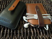 Hand Craft  iPhone with Card  Premium Wax Leather Case  iphone 3 iphone 4 / 4s