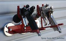 SPRAY GUN HOLDER BINKS SATA DEVILBISS AUTO PAINT AUTO BODY MADE IN USA 3M PPS