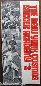 1974 New York Cosmos Soccer Academy for Boys 9-18 Brochure