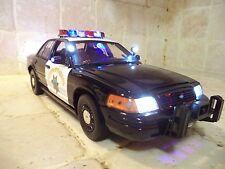 "California Highway Patrol *CHP 1/18 ""WORKING LIGHTS""  Emergency Police Siren Ut"
