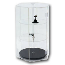 Acrylic Display Case Revolving Acrylic Case Showcase Jewelry Display Stand