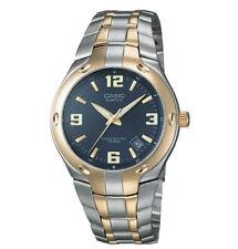 Casio Men's Edifice Quartz Two Tone Stainless Steel 100m Watch EF106SG-2AV New