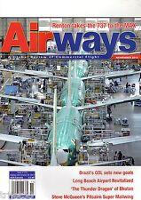 Airways 2013 November Thai A300,GOL,Boeing 737,Drukair,Pitcairn,Otter