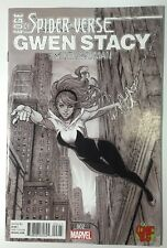 Edge of Spider-Verse #2 COMIC BUG SIYA OUM Black White Sketch Variant 1st Gwen