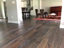 9 Mile Creek Charcoal Engineered Hardwood Wood Flooring Floor Sample