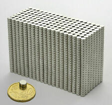 100-500PC 6x3mm Neodymium Disc Super Strong Rare Earth N35 Small Fridge Magnets